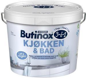 Butinox Interiør Kjøkken & Bad (3 liter)