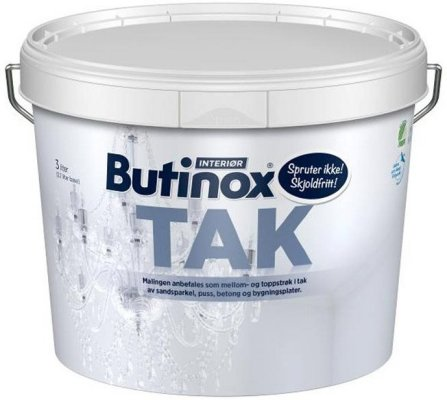 Butinox Interiør Tak (10 liter)