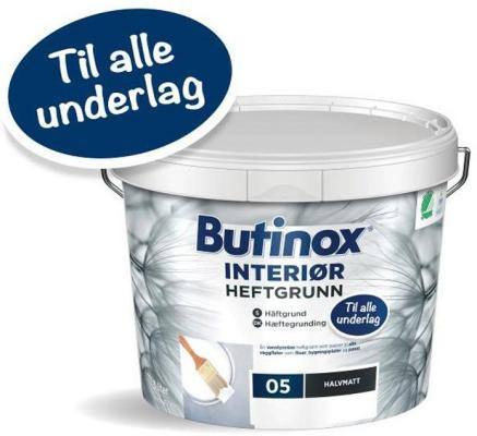 Butinox Interiør Heftgrunn (3 liter)