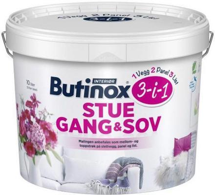 Butinox Int Stue, Gang, Sov (10 liter)