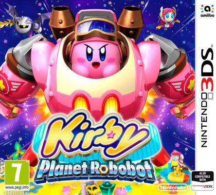Kirby: Planet Robobot til 3DS