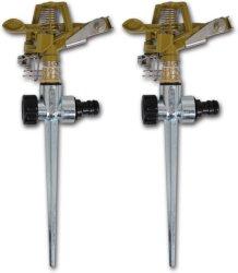 VidaXL Sprinkleranlegg for hagevanning 2 stk