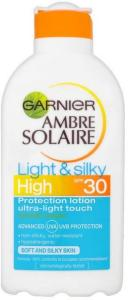 Garnier Ambre Solaire Light & Silky SPF15 200ml