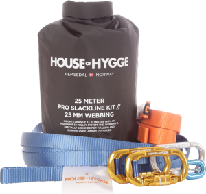 House of Hygge Slakkline Pro Kit 25m (100003)