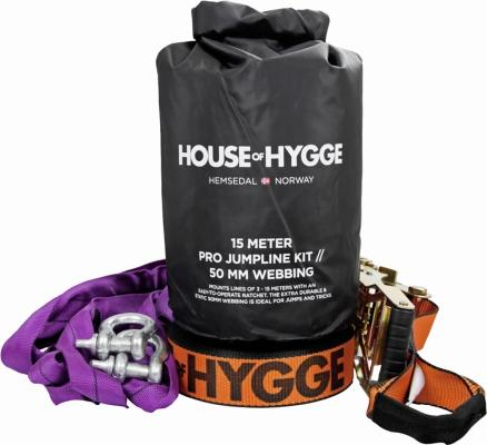 House of Hygge Slakkline Pro Jump Kit 15m (108693)