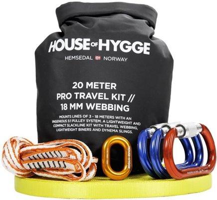 House of Hygge Slakkline Pro Travel Kit 20m (100005)