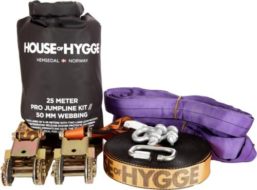 House of Hygge Slakkline Pro Jump Kit 25m (109772)