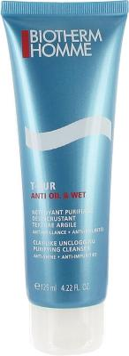 Biotherm Homme T-Pur Anti Oil & Wet Purifying Cleanser 125ml