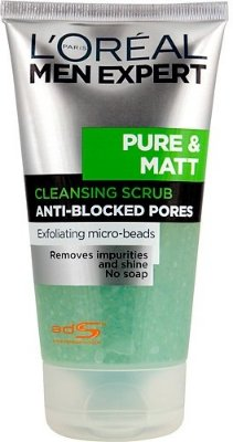 L'Oreal Men Expert Pure And Matt Cleansing Scrub
