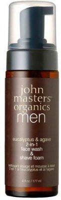 John Masters Organics 2-in-1 Face wash & Shave foam 177ml