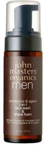John Masters Organics 2-in-1 Face wash & Shave foam 177ml