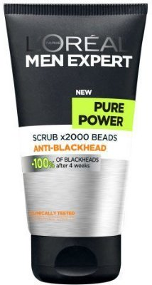 L'Oreal Men Expert Pure Power Anti-Blackhead Scrub 150ml