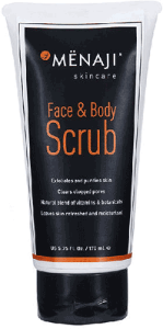 Menaji Face & Body Scrub 170ml