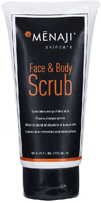 Menaji Face & Body Scrub 170ml