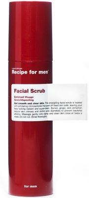 Recipe for Men Facial Scrub
