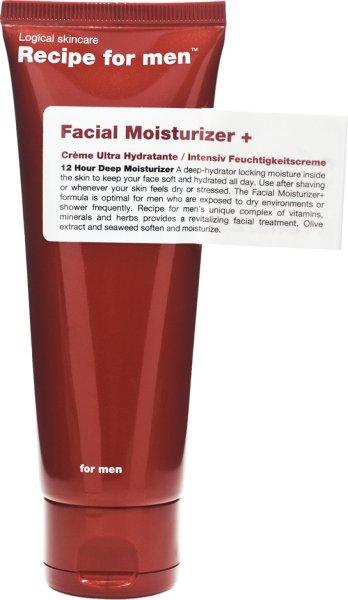 Recipe for Men Facial Moisturizer Plus