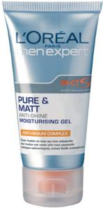 L'Oreal Men Expert Pure & Matte Anti-Shine Moisturising Gel 50ml