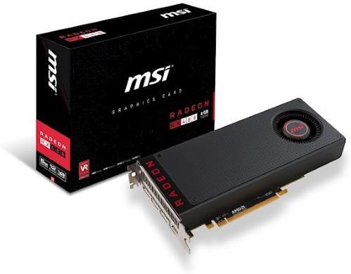 MSI Radeon RX 480 8G