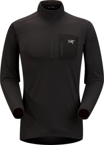 Arc'teryx Rho LT Zip Neck (Herre)