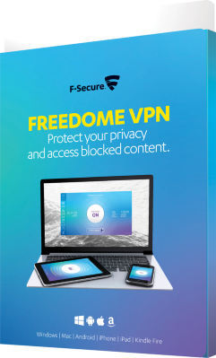 F-Secure Freedome VPN (3 enheter)