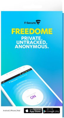 F-Secure Freedome VPN Mobil