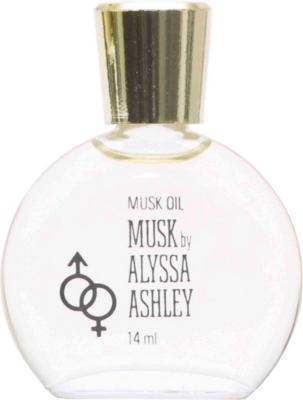 Alyssa Ashley Musk Perfume Oil 14ml
