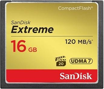 SanDisk Compact Flash Extreme 16GB