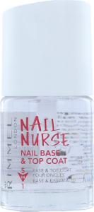 Rimmel Nail Nurse Nail Base & Top Coat 12ml