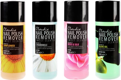 Claudia Nail Polish Remover Sweet Scented 100ml