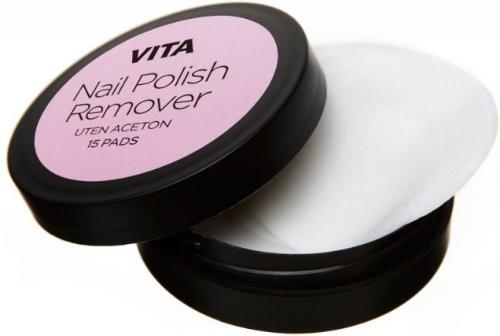VITA Nail Polish Remover Pads 15stk