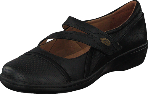 Clarks Evianna Crown Black (Dame)