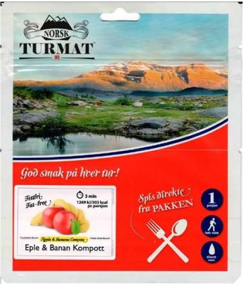 Norsk Turmat Eple&Banan Kompott