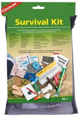 Coghlans Survival Kit 46 deler