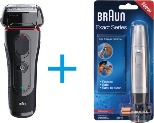 Braun 5030s + Nesehårstrimmer
