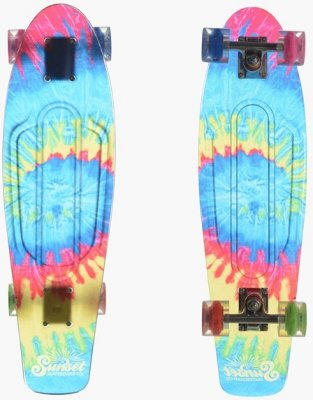 Sunset Skateboards Tye-Dye 27