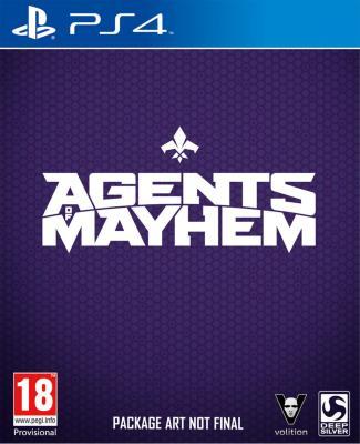 Agents of Mayhem til Playstation 4