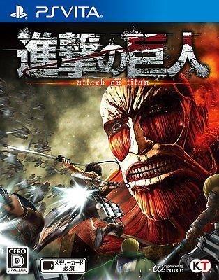 Attack On Titan til Playstation Vita