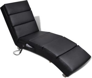 VidaXL Elektrisk massasjestol