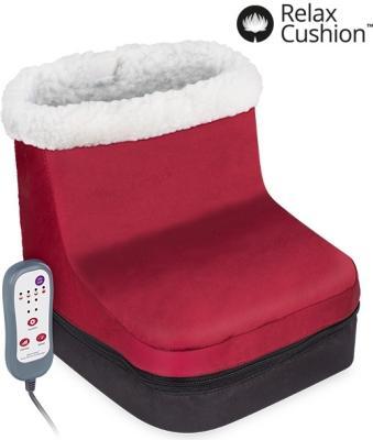 Relax cushion cushion fotmasserer med varme