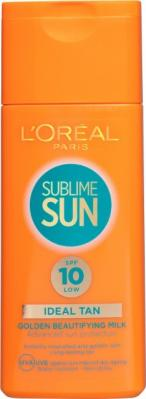 L'Oreal Sublime Sun Tan Lotion SPF10 200ml
