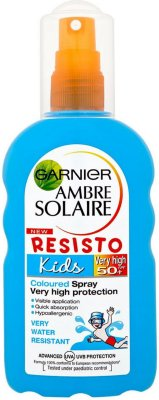 Garnier Ambre Solaire Kids Resisto Colour Spray SPF50