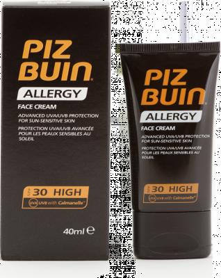 Piz Buin Allergy Face Cream SPF30