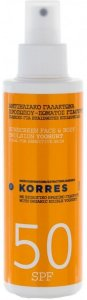 Korres Suncare Spray Yoghurt SPF50 150ml