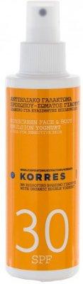 Korres Face & Body Emulsion Yoghurt Spray SPF30 150ml