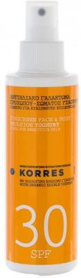 Korres Face & Body Emulsion Yoghurt Spray SPF30 150ml