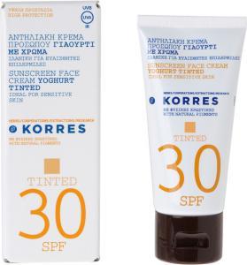 Korres Tinted Suncare Yoghurt SPF30 50ml