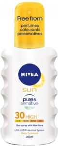 Nivea Protect & Sensitive Spray SPF30 200ml