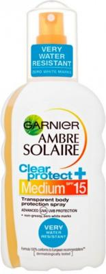 Garnier Ambre Solaire Clear Protect Spray SPF15
