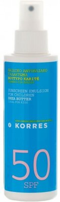 Korres Shea Butter Children Sunscreen Emulsion SPF50 150ml