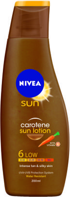 Nivea Sun Carotene Lotion SPF6 200ml